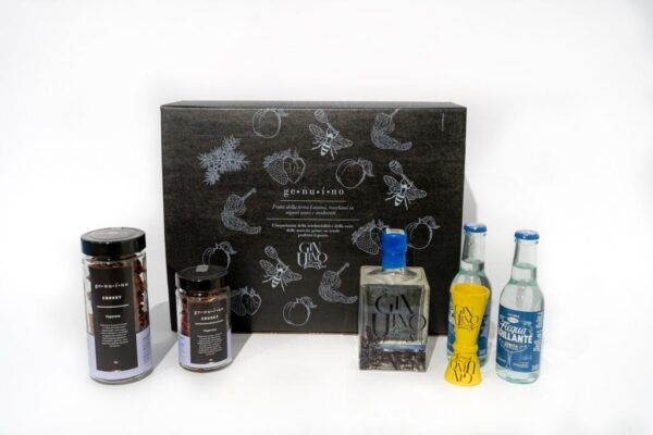 Box GinUino Gin 500ml - Box aperitivo