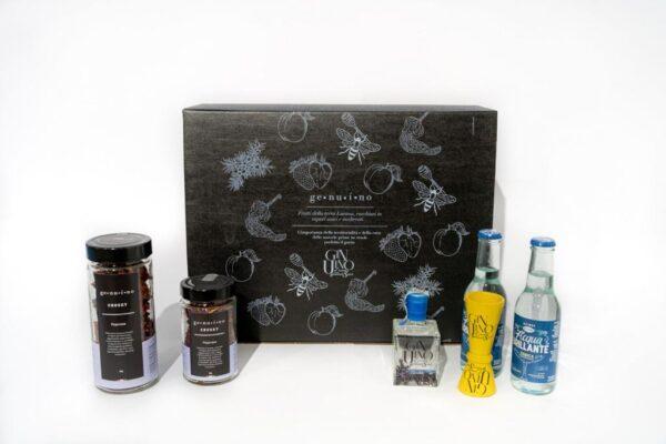 Box GinUino Gin 100ml - Box aperitivo